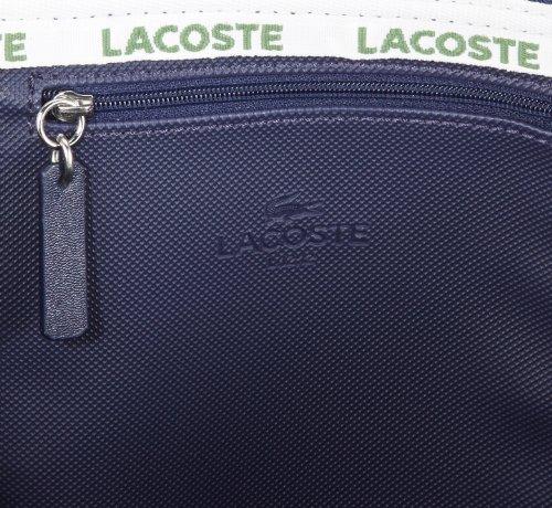 Lacoste Bolsa Eclipse material Women sintético Blau Handbag mujer la compra de 141 de Azul r7r4qwEx