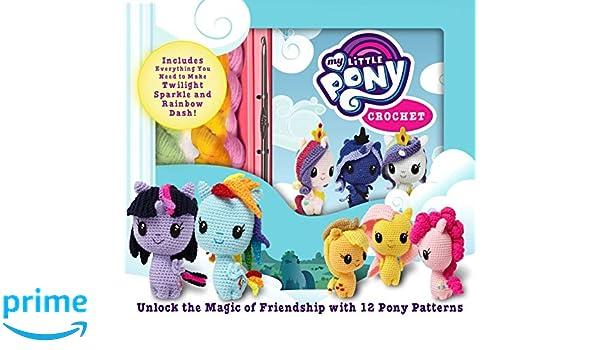 My Little Pony Crochet Crochet Kits Jana Whitley 9781684123988