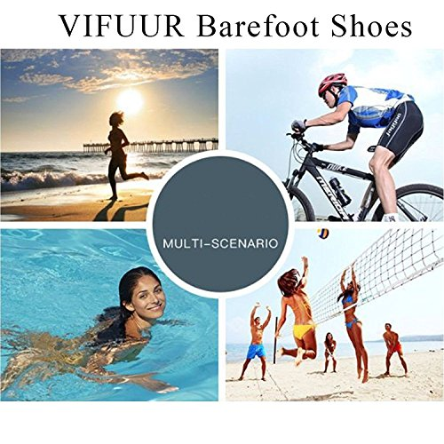 Yoga Aqua Water Women Shoes VIFUUR Quick Men Pool for Black Beach Exercise Shoes amp;silver Drying Unisex 4qn8wIt