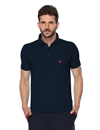 9e06163b ONN Men's Navy Blue Polo T-Shirt: Amazon.in: Clothing & Accessories