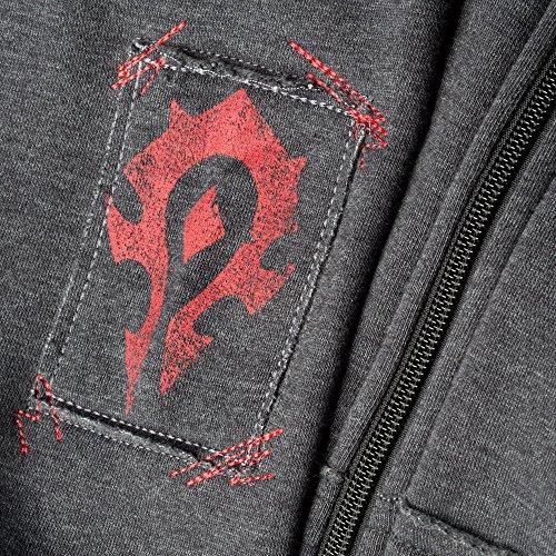 JINX-World-of-Warcraft-Mens-Champion-of-The-Horde-Premium-Zip-Up-Hoodie