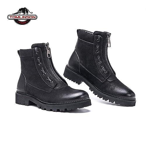d0ada87e6b874 Hombre Botas Invierno con Piel Caliente Las Botas Invierno Hombres Los  Zapatos Calzado De Trabajo para Hombre Zapatos De Goma del Tobillo De La  Moda 38-43  ...