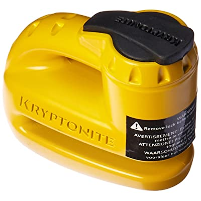Kryptonite 000884 Keeper 5s Yellow Disc Lock: Automotive