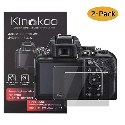kinokoo Película de Vidrio Templado para Nikon D3500/D3400/D3300 ...
