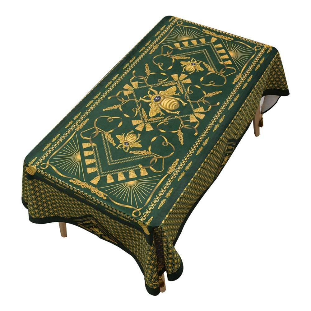 SCJ 古典的な宮殿のテーブルクロス/コットンと麻の長方形のコーヒーテーブルテレビキャビネットテーブルクロス/(長方形 - 55 'x 94.5')(色:B、サイズ:55 * 55インチ) 55*55inch B B07S61L2WW