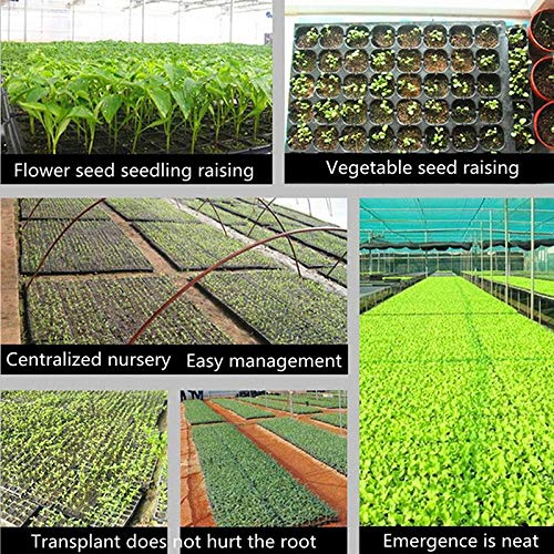 Extra Strength 1020 Starting Trays for Planting Seedlings Vanproo 72 Cell Thickened Seed Starter Tray Germination Plugs Propagation