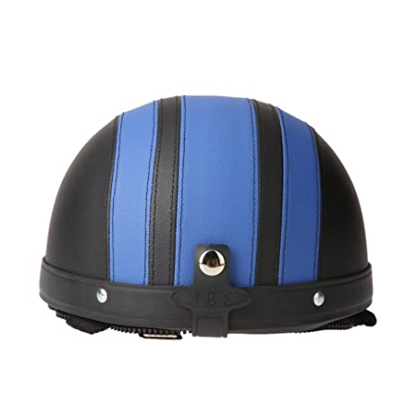 Amazon.es: KKmoon Casco Abierto Protección para Motocicleta Scooter Bicicleta 54-60cm Ajustable con Visera UV Gafas Bufanda (Multicolor)