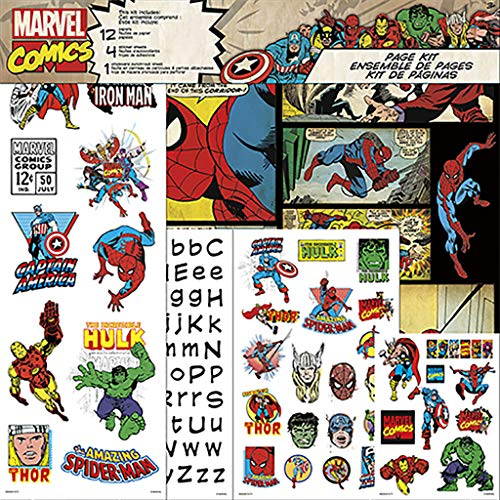 Trends International Marvel Page Kits Multi ()