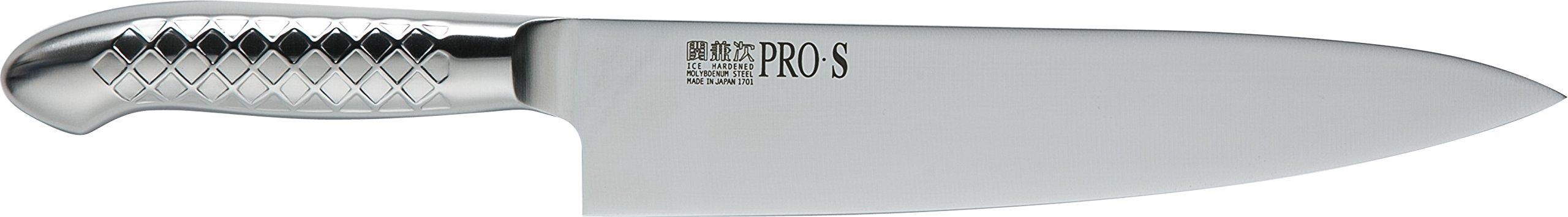 関兼次 Seki Kenji Hamono Japanese Knife Kitchen Knife PRO Molybdenum Steel Stainless Steel Made in Japan (Beef Sword 240mm, PRO · S)