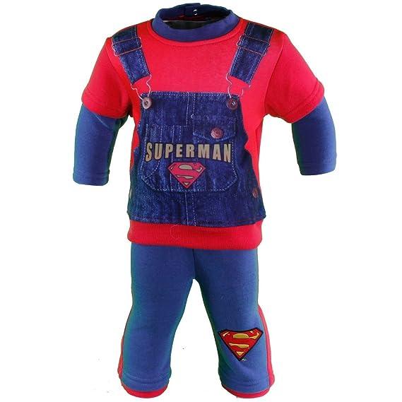 Superman Deportes Chándal bebé: Amazon.es: Ropa y accesorios