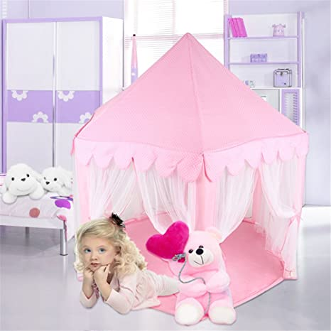 Princess Castle PLay Tent By Sid Trading fairy princess castle (Pink)  sc 1 st  Amazon.com & Amazon.com: Princess Castle PLay Tent By Sid Trading fairy ...