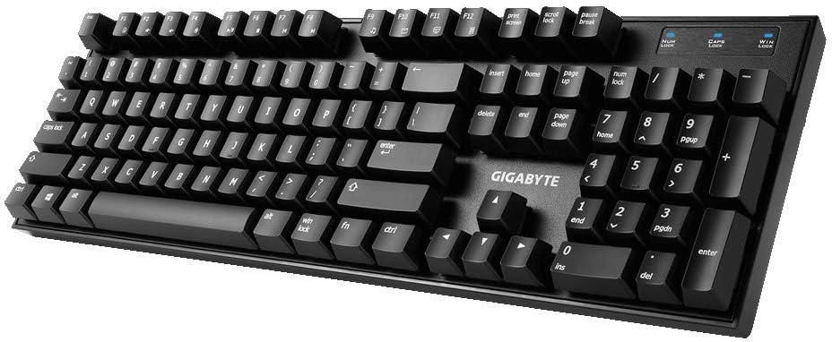 Gigabyte Force K83 - Teclado Gaming USB, Color Negro