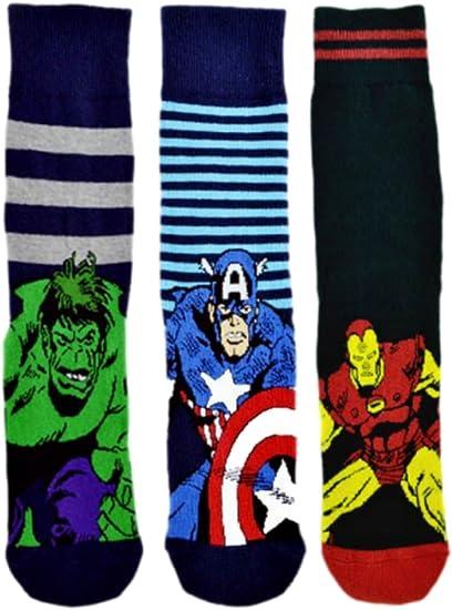Marvel Avengers Spiderman confezione da 3 paia di calzini
