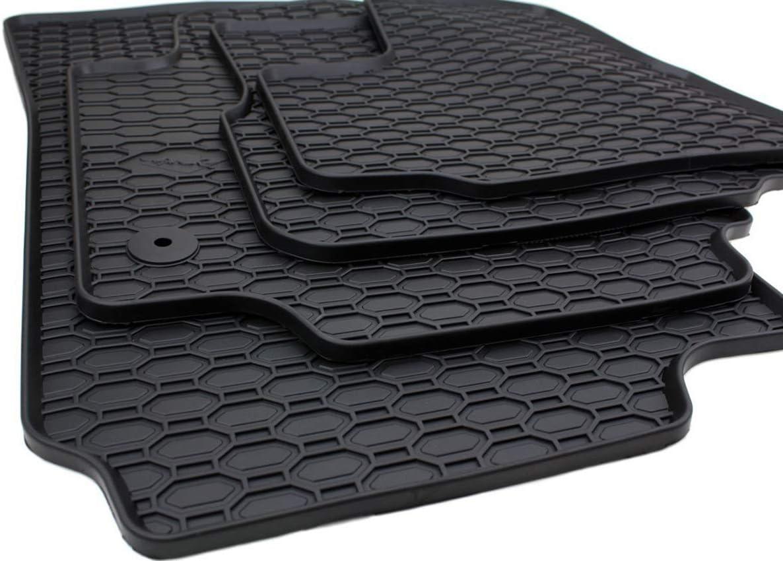 Kfzpremiumteile24 Gummimatten Kompatibel Mit Up 1s Mit Mii Citigo Premium Fußmatten Allwetter Gummi Schwarz Auto