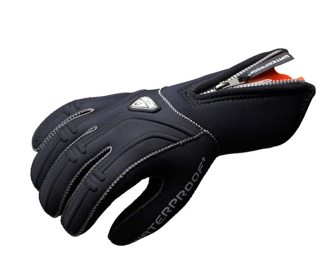 Waterproof G1 5mm Aramid Kevlar 5-Finger Gloves, 2XL