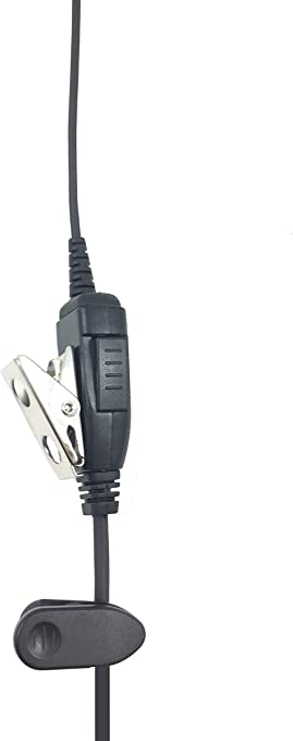ProMaxPower Two Way Radio Swivel Headset Earpiece PTT for Hytera PD700 PD752 PD780 SDL-10-H3