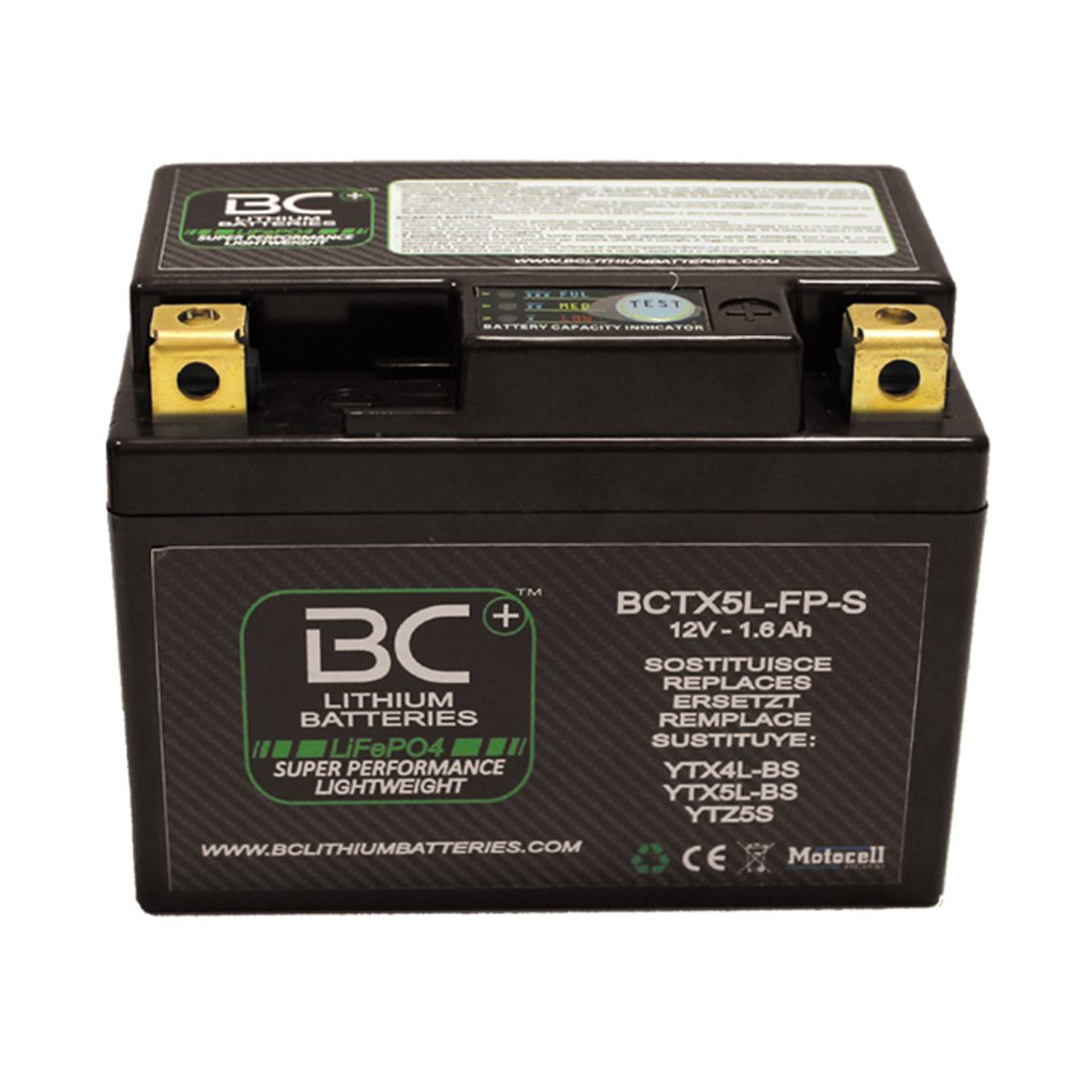BC Lithium BatteriesBCTX30-FP-WIQ LiFePO4 Motorcycle Battery HJTX30-FP / YIX30L-BS Forelettronica Srl