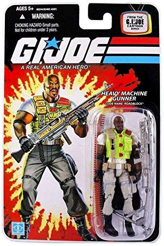 G.I. Joe 25th Anniversary Cartoon Series Cardback: Roadblock (Heavy Machine Gunner) 3.75 Inch Action Figure -