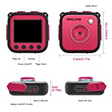 TOPELOTEK Kids Digital Action Camera Waterproof