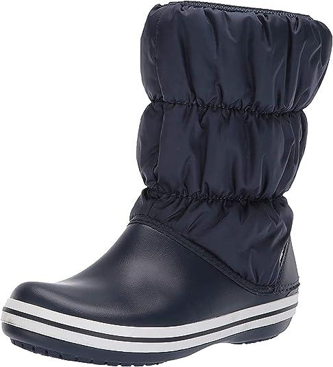 New Women/'s Crocs Winter Puff Pull-On Boot Shoes SZ 7 8