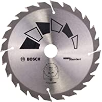 Bosch Standard Wood Circular Saw Blade (Wood, Plastic, Ø 150 x 20 mm, 24T, accessory Circular Saw)