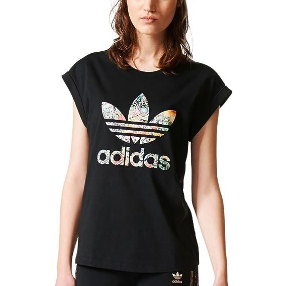 Adidas Originals Jardim Agharta - Camiseta para Mujer, Color Negro/Color Blanco br5169 - br5169, Negro/Blanco: Amazon.es: Deportes y aire libre