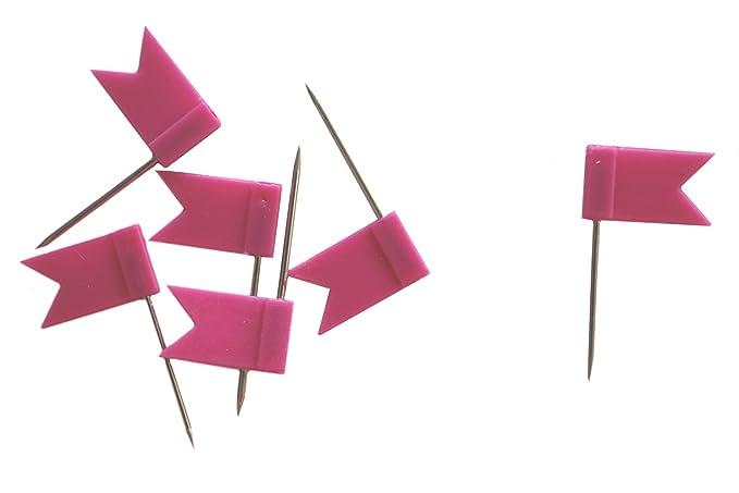 Fahne pink 30 St/ück Markiernadeln dalipo 31015