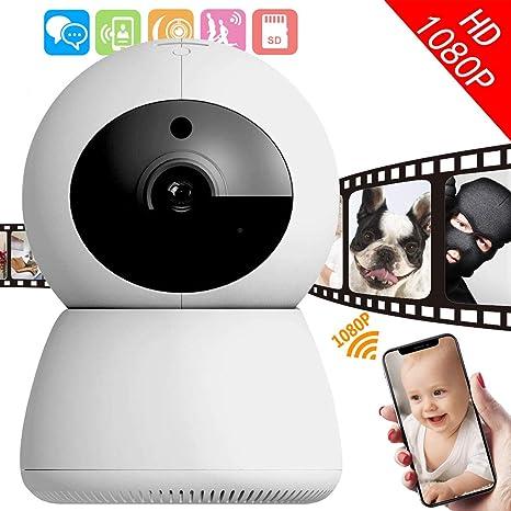 Amazon.com: I-STAR Cámara de seguridad inalámbrica 1080P ...