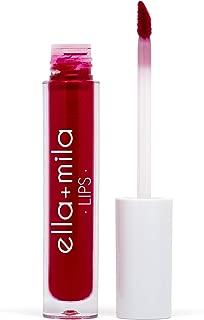 product image for ella+mila, Velvet Matte | You Red my Mind