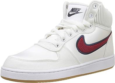Nike WmnsEbernon Mid Prem, Zapatos de Baloncesto para Mujer ...