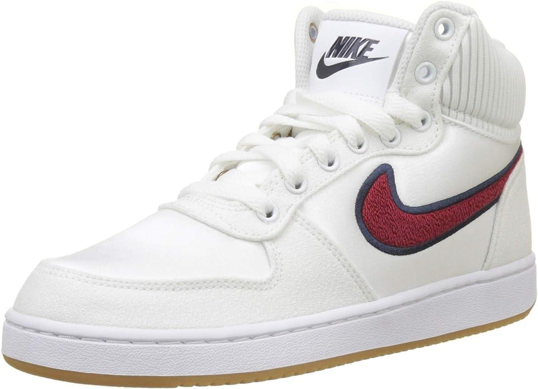 Nike Wmns Ebernon Mid Prem, Zapatos de Baloncesto para Mujer ...