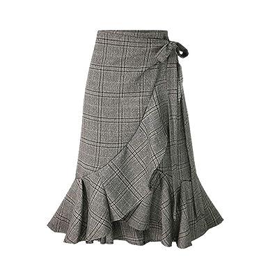 Vestidos de Verano para Mujer, Casual, Cintura Alta elástica, a ...