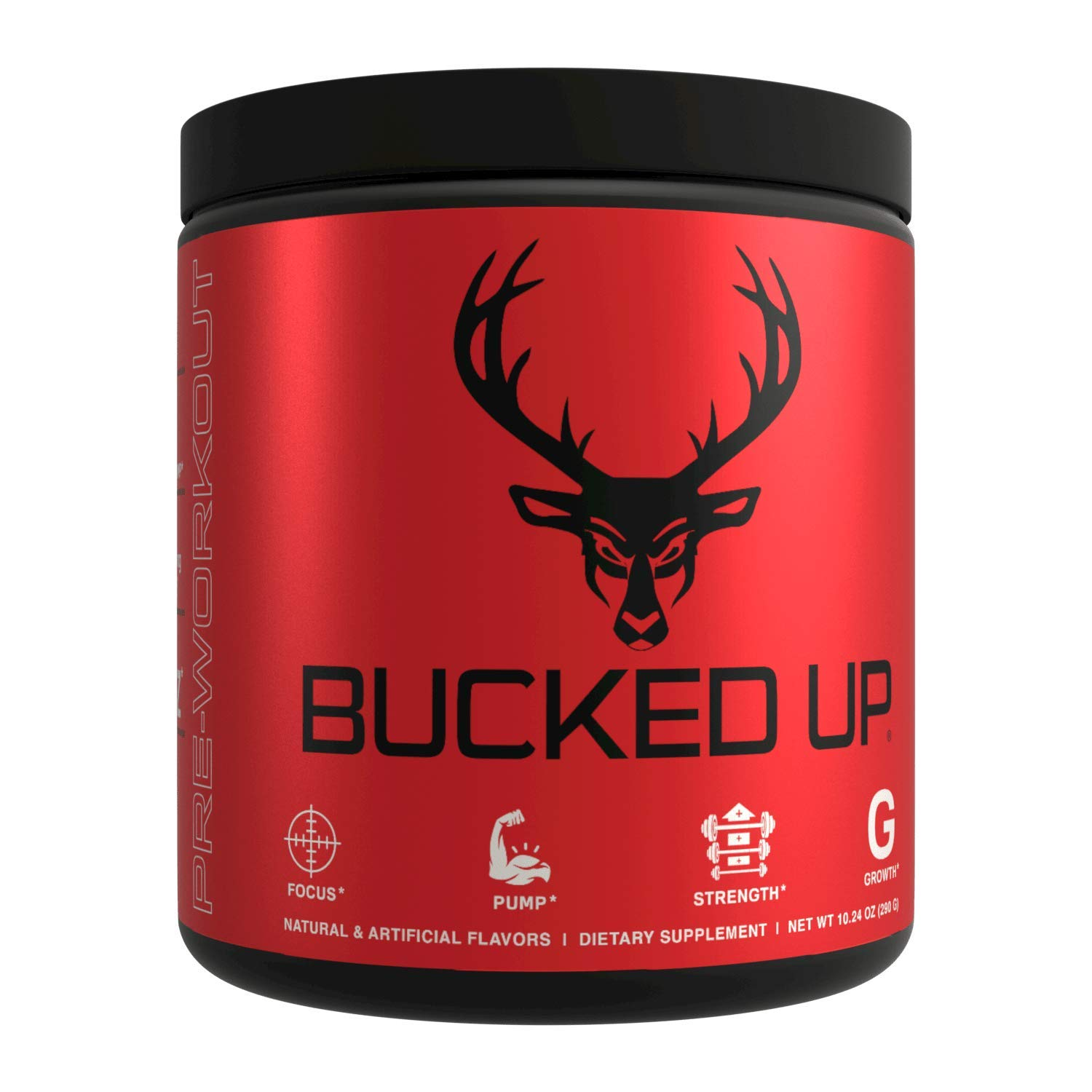 Bucked Up Pre Workout – Best Tasting – 6 Grams Citrulline, 2 Grams Beta Alanine Non Proprietary Blend, Powder 30 Servings Strawberry Kiwi