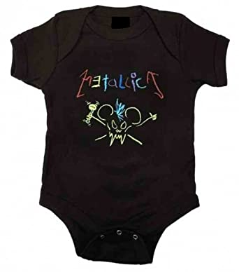 2bdbb36b6 Official Metallica - Crayon - Babygrow  Amazon.co.uk  Clothing