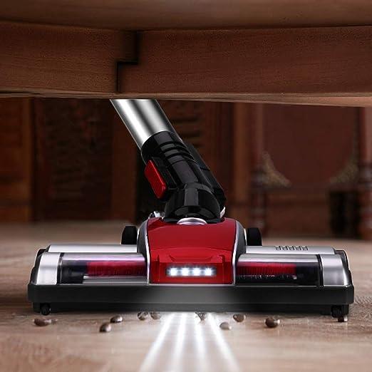 ELEHOT - Aspirador sin cables, escoba eléctrica vertical 2 en 1 ...