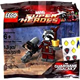 LEGO Marvel Guardians of the Galaxy Marvel Super Heroes Minifigure Set #5002145 Rocket Raccoon