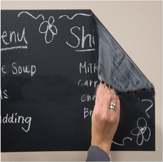 Wall Sticker Decal DIY Blackboard 100*45cm Vinyl Removable Sticker Chalkboard