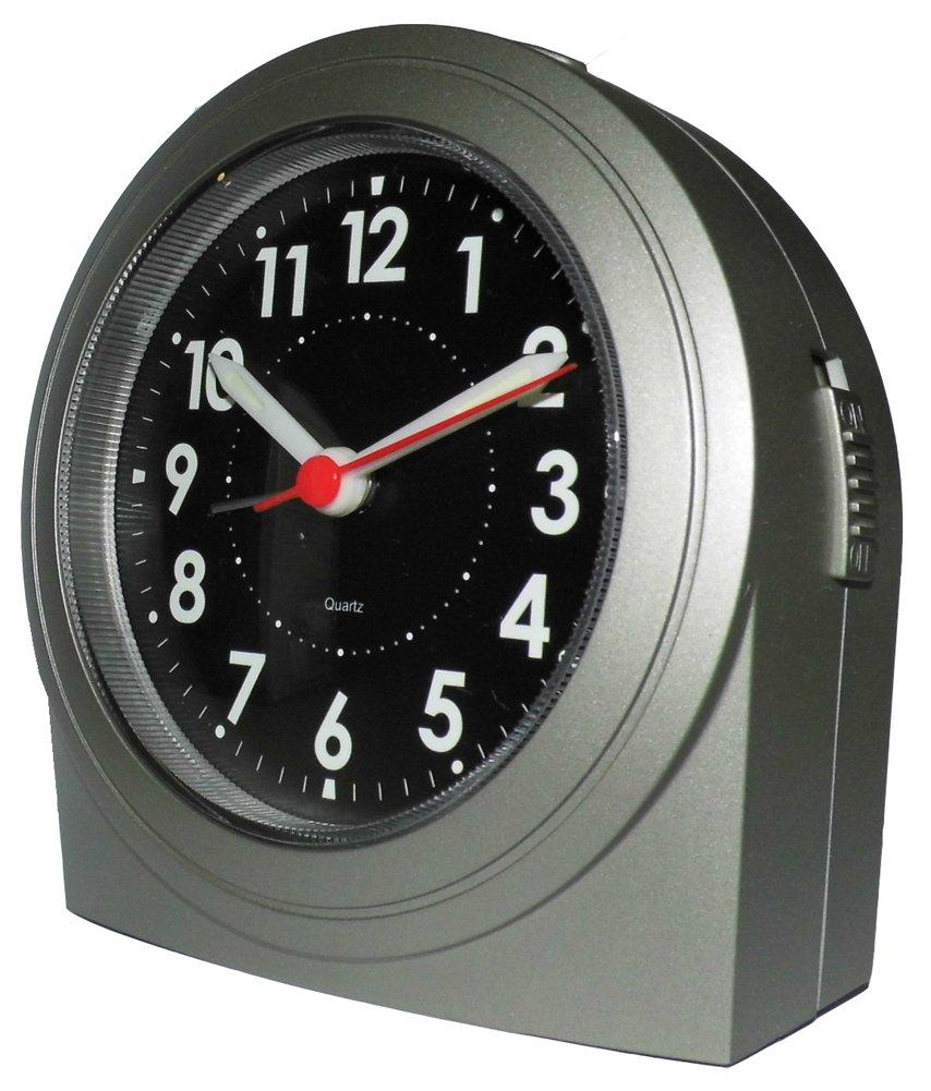 Wecker ohne zeiger  Analog Quartz Wecker Uhr Tischuhr mit Lumineszierende Zeiger NEU ...