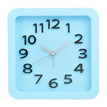 e5fee9e3f Buy Tuelip Analog Square Shape Table Clock