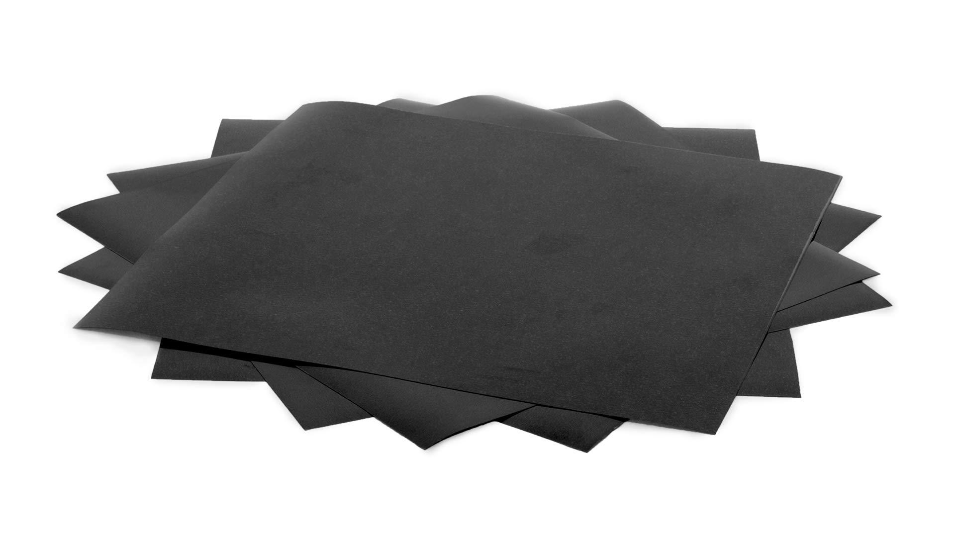 Siser EasyWeed 15''x12'' Sheet (Black, 5 pack)