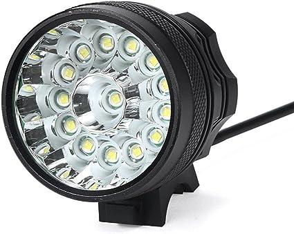 Ultra Bright Cycling MTB Bike Front Light Torch T6 LED 18650 Battery Waterproof