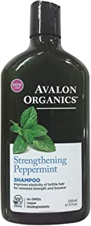 product image for Avalon Organics Strengthening Shampoo, Pepppermint 11 oz (Pack of 4)