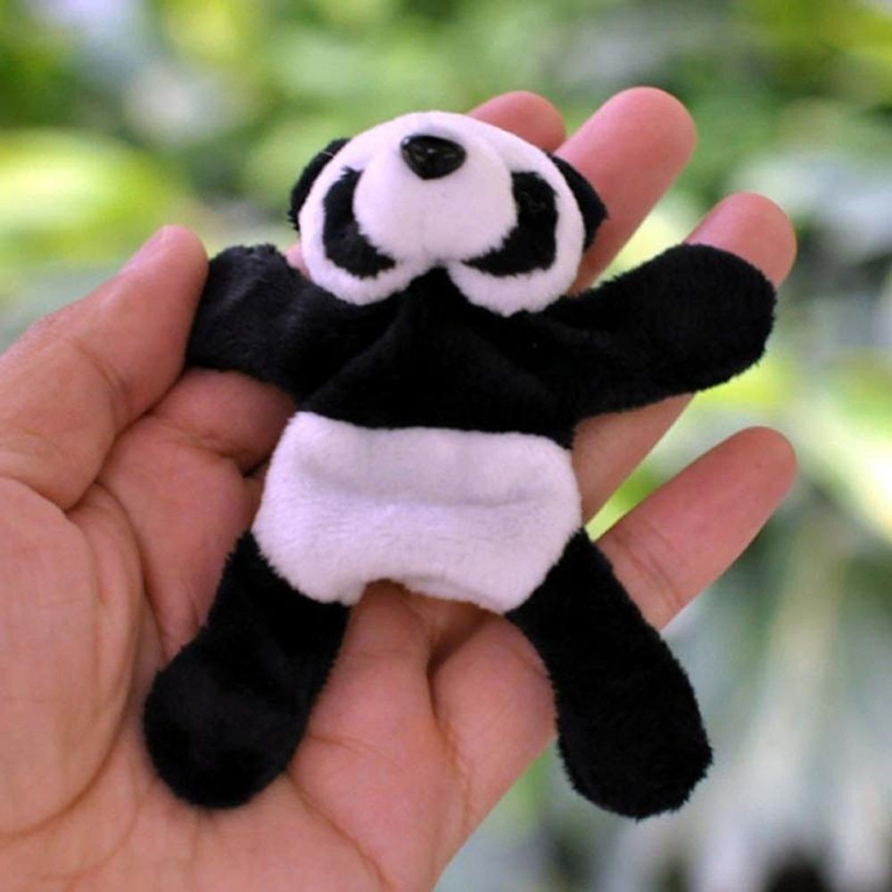 Clothful  1Pc Cute Soft Plush Panda Fridge Magnet Refrigerator Sticker Gift Souvenir Decor