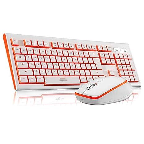 Juego de Teclado y ratón inalámbricos Multimedia para portátil ...
