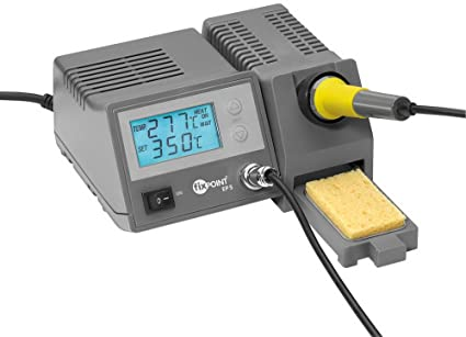Estación de soldadura digital con Vögeln de y es de indicador de temperatura