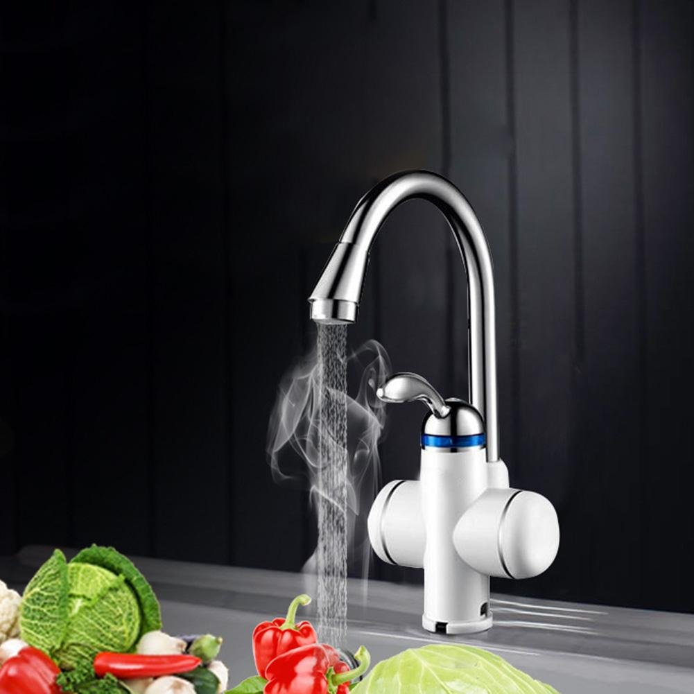 Matefield Stainless Steel Electric Heating Hot Water Instant Tankless Heater Faucet by Matefield (Image #3)