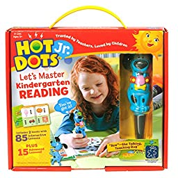 Educational Insights Hot Dots Jr. Let\'s Master Kindergarten Reading Set with Ace Pen