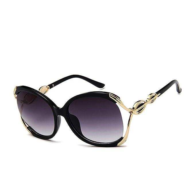 Amazon.com: Gafas de sol para mujer de lujo, con montura ...