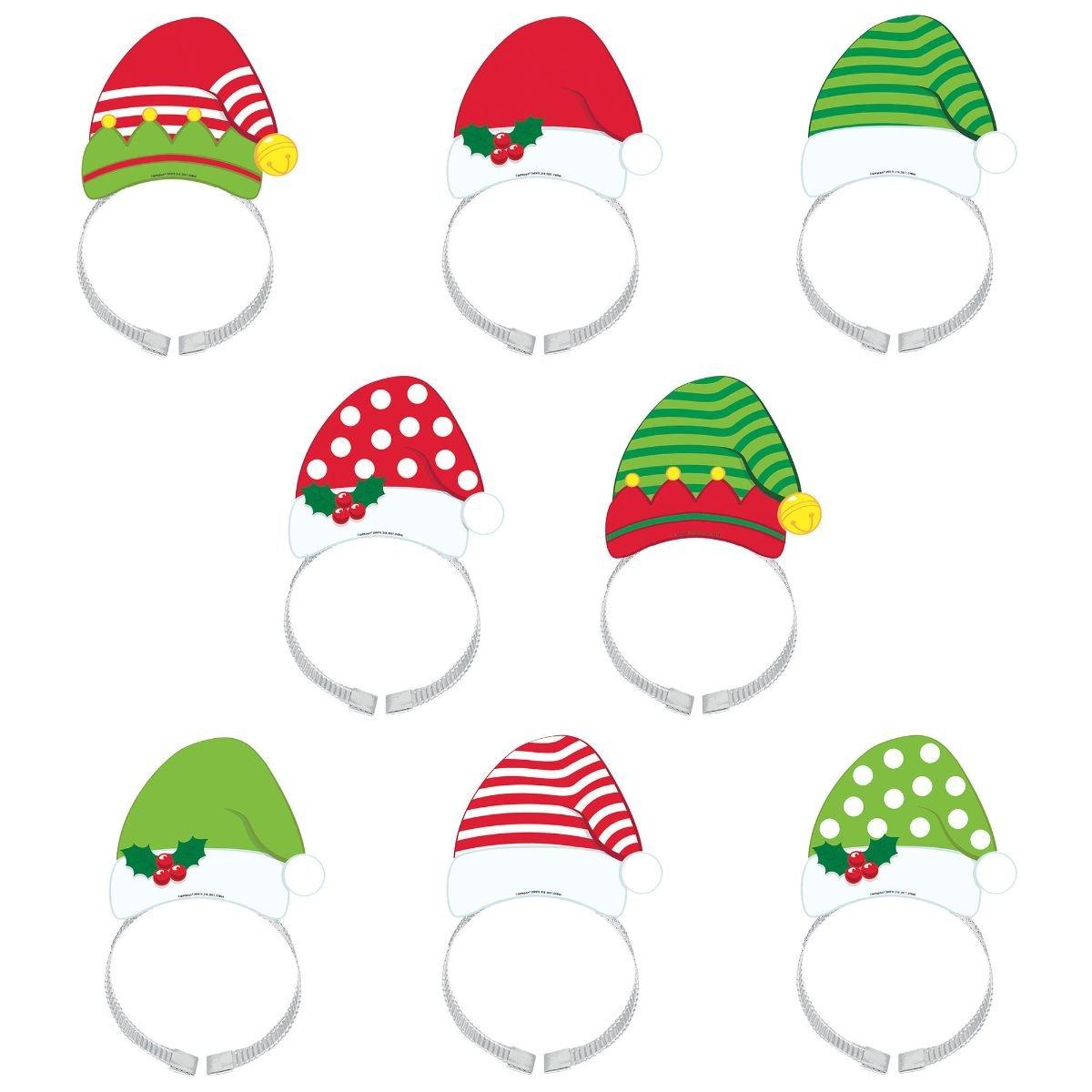Amscan 398910 Santa & Elf Headband Pack Amscan International Ltd