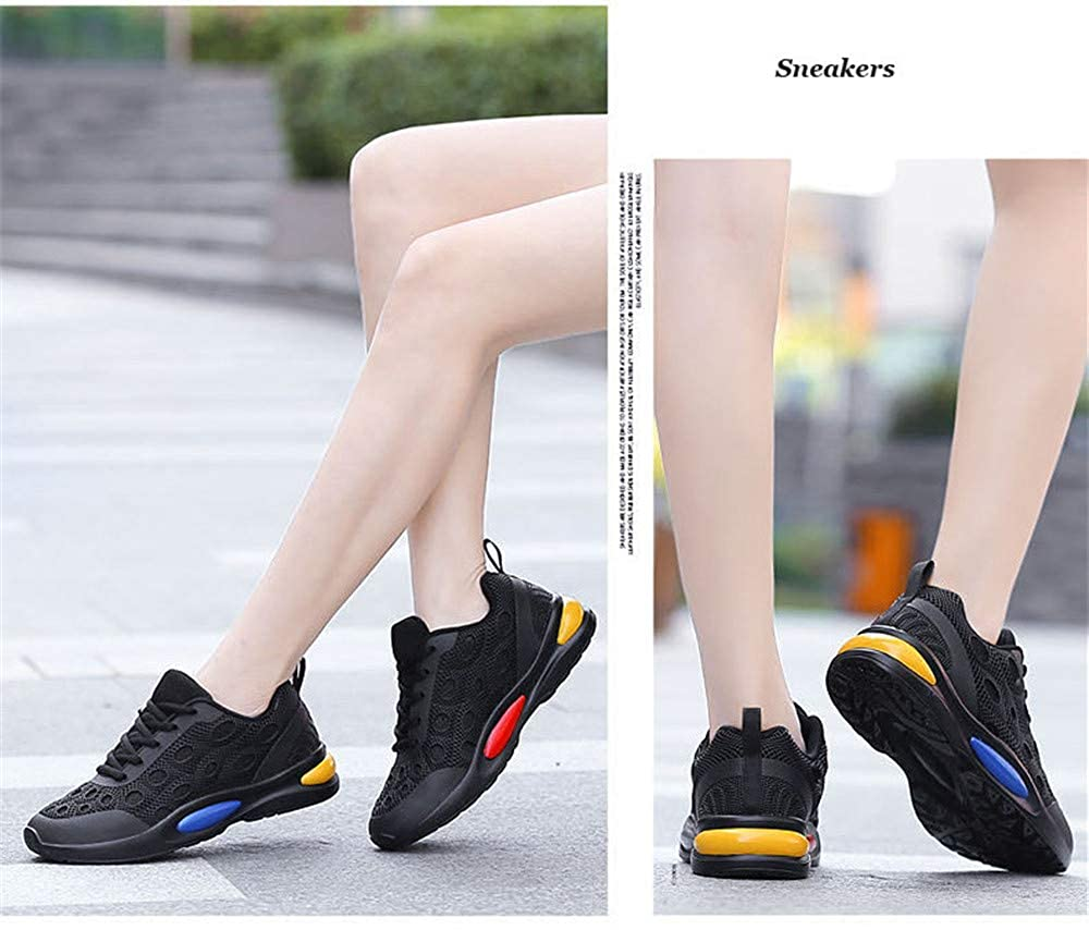 zuopingfang Spring Women Sneakers Breathable Mesh Casual Shoes Female Fashion Sneakers Lace-up Ladies Shoes